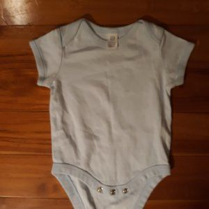 baby Gap Light Blue Bodysuit New Without Tags